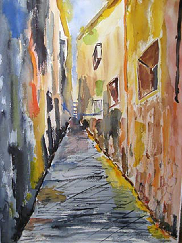 Gasse in Neapel