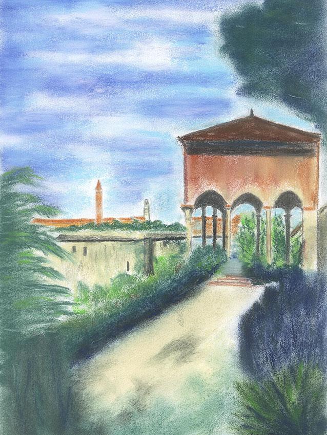 Verona, Giardini Giusti Belvedere